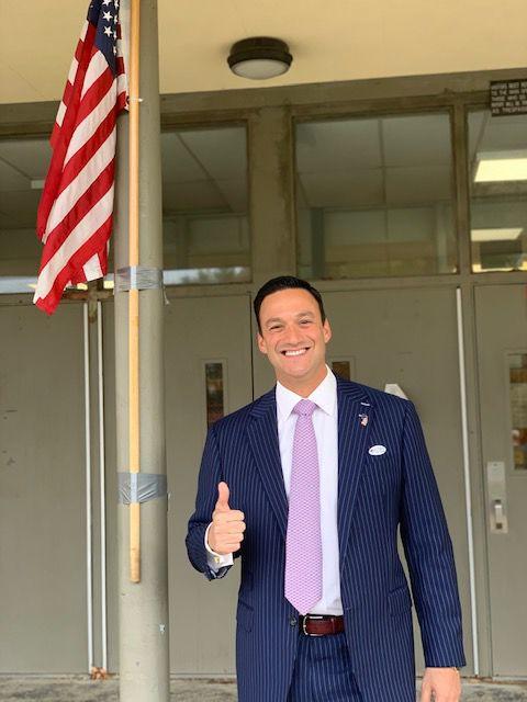 Michael Testa Election Day