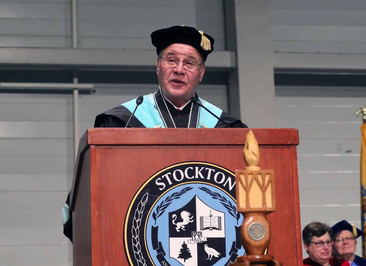 Stockton University Doctoral and Master's Ceremony