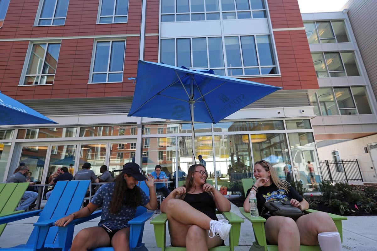 Stockton AC campus moving in