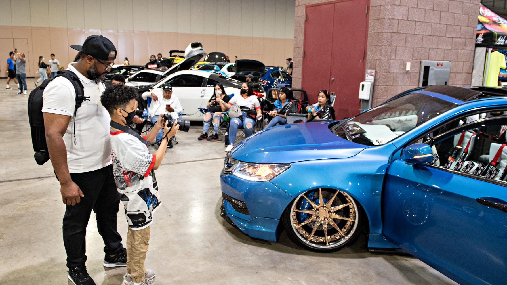 A car expo welcomes the public back inside the Atlantic City Convention Center