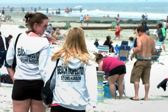 Long Beach Township New Jersey Beach Badges