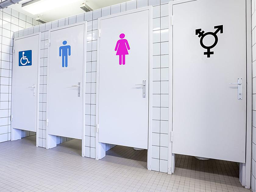 the dilemma of transgender bathroom use People who identify as androgynous, somewhere in between the gender binary, intersex, or transgender have often faced the dilemma of which restroom to use cisgender.