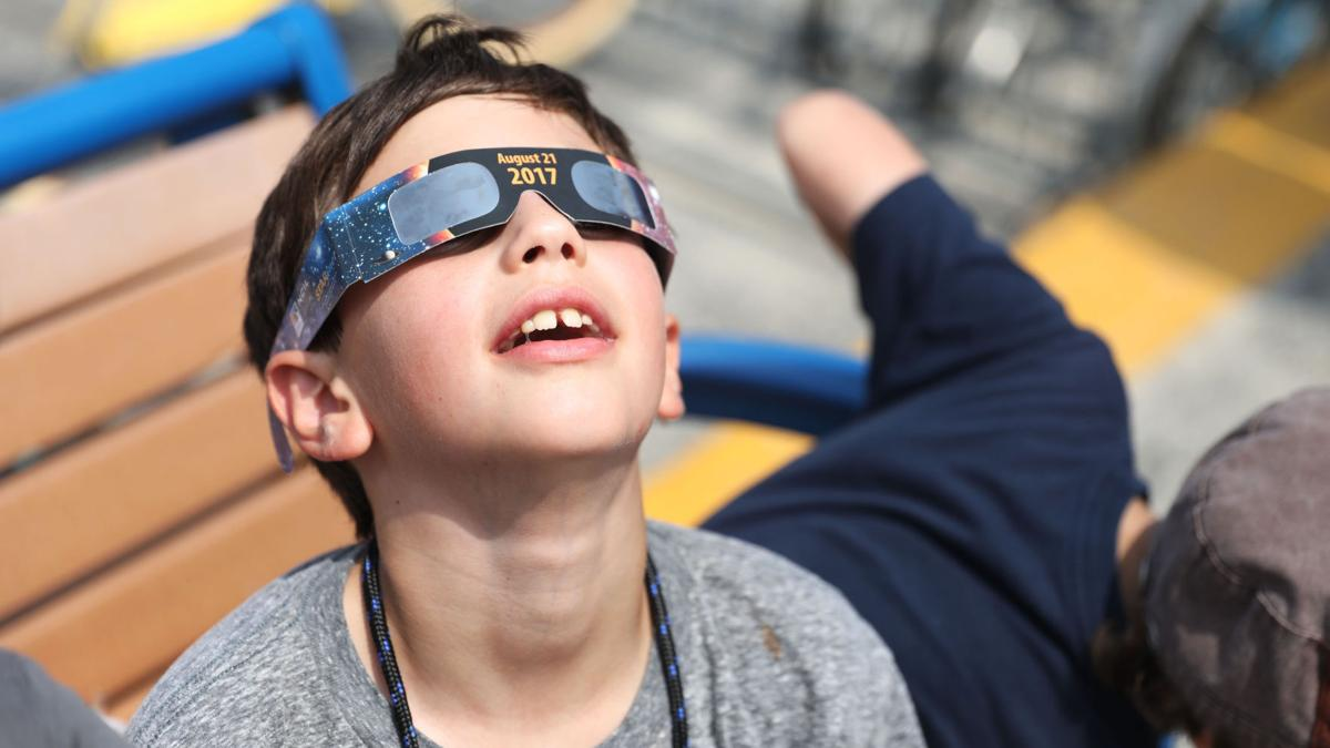 GALLERY: 2017 Solar eclipse from Cape May