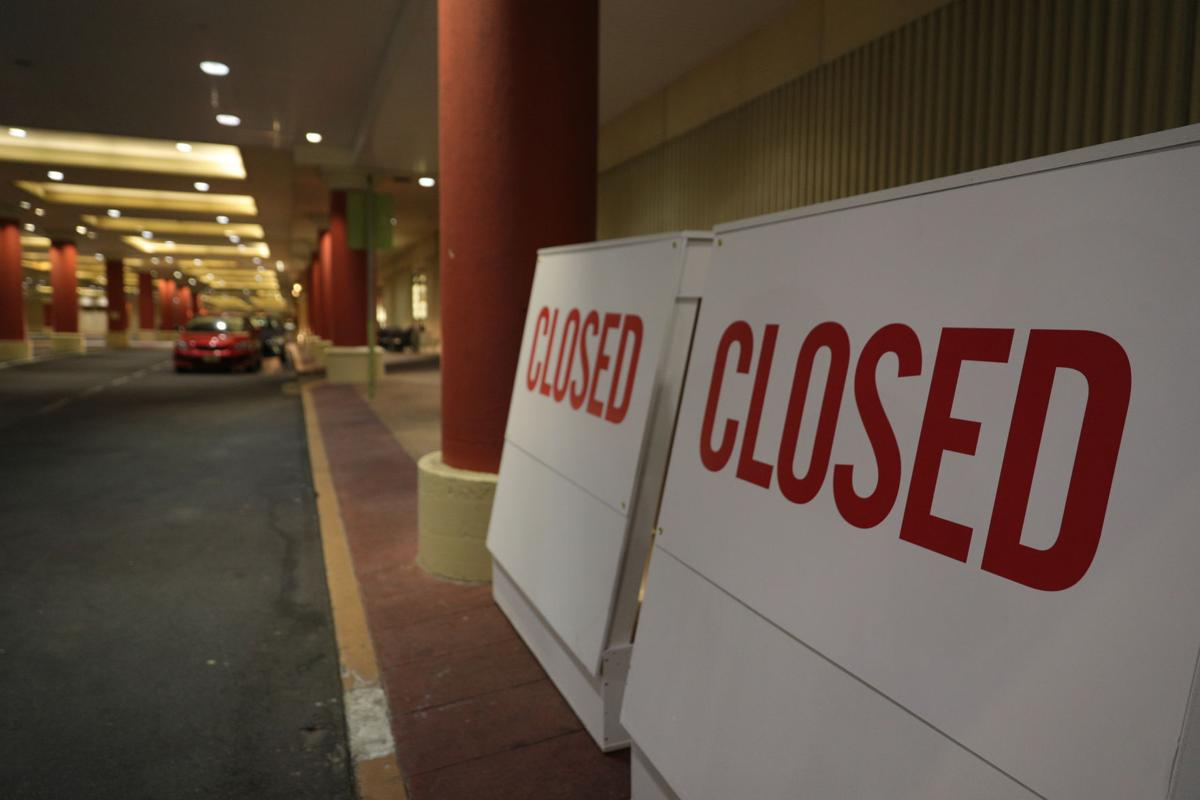 Atlantic City Casino shutdown