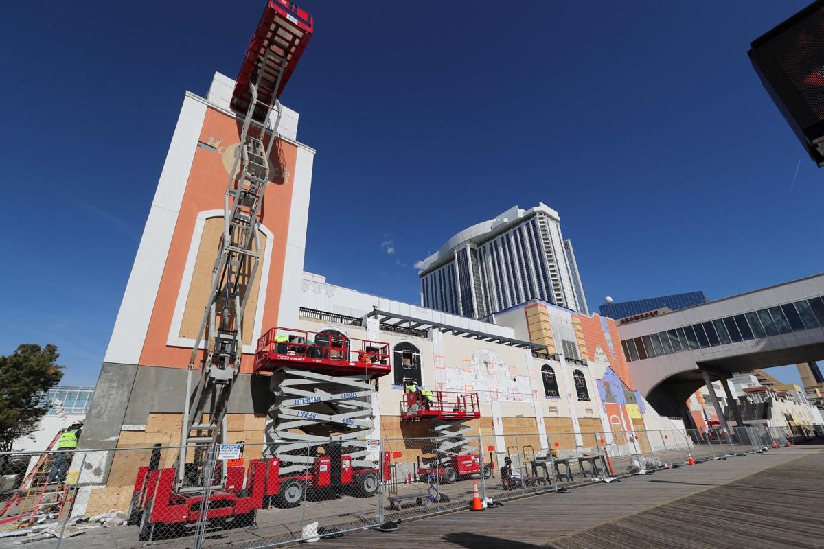 Construction on the Hard Rock continues