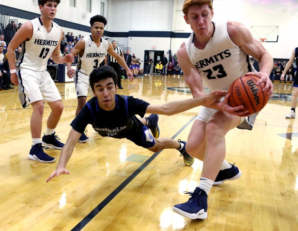 Wildwood Catholic vs  St. Augustine Prep boys basketball game