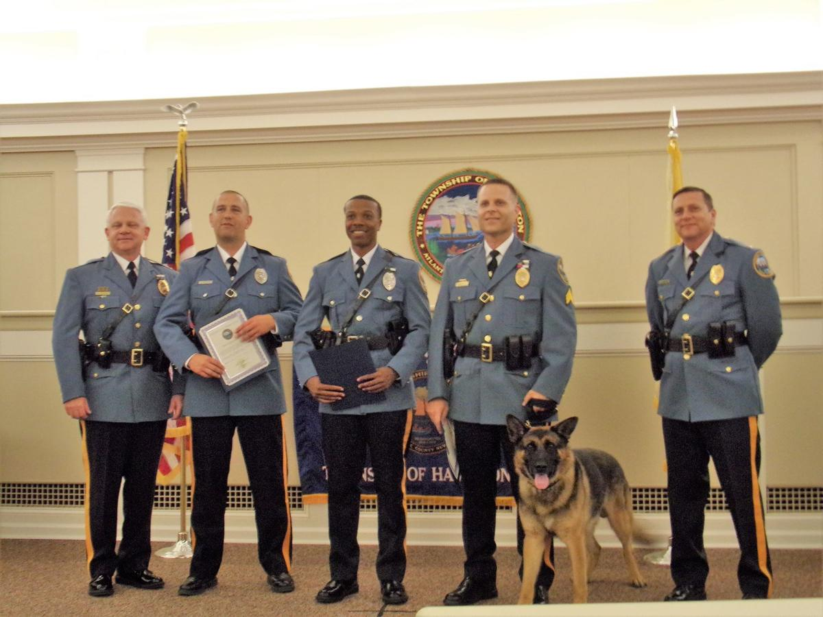 Hamilton police hold awards ceremony | Hamilton Township