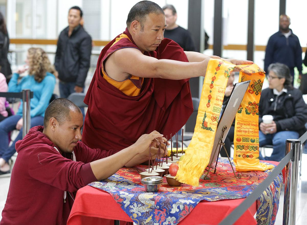 Traveling monks part of Stockton's Tibetan Culture Week