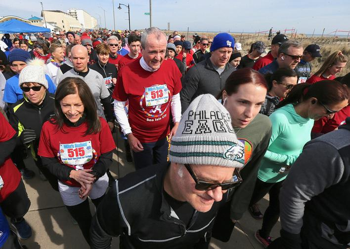 12 Inspira nurses and their 12 babies, our lack of snow, Gov. Murphy goes for a run in Sea Isle and more