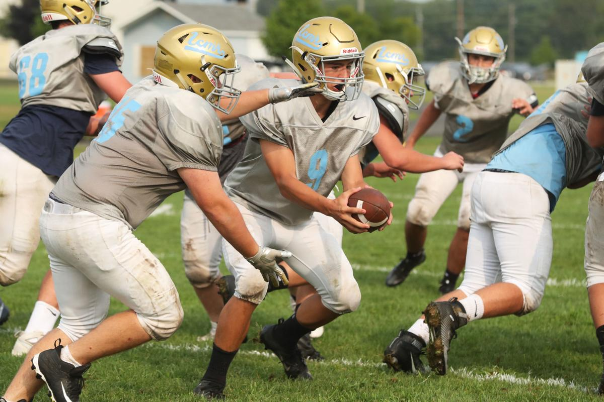 Lower Cape May Regional football practice