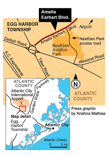 atlantic city airport bomb threat