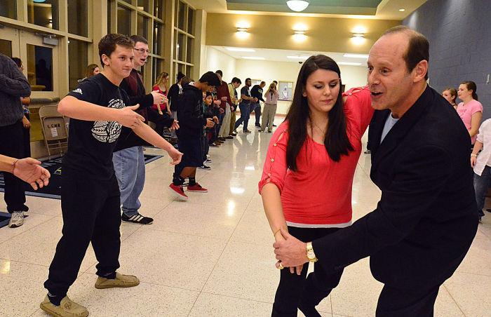 school dancing