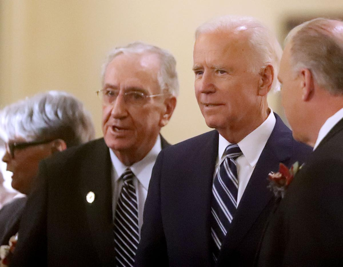 Biden Honors Friend, Former Rep William J Hughes, At -2232