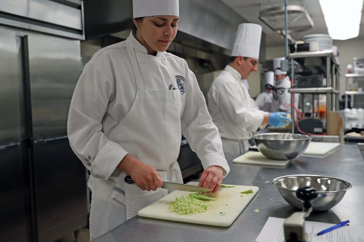 Academy of Culinary Arts prepare food for Gala