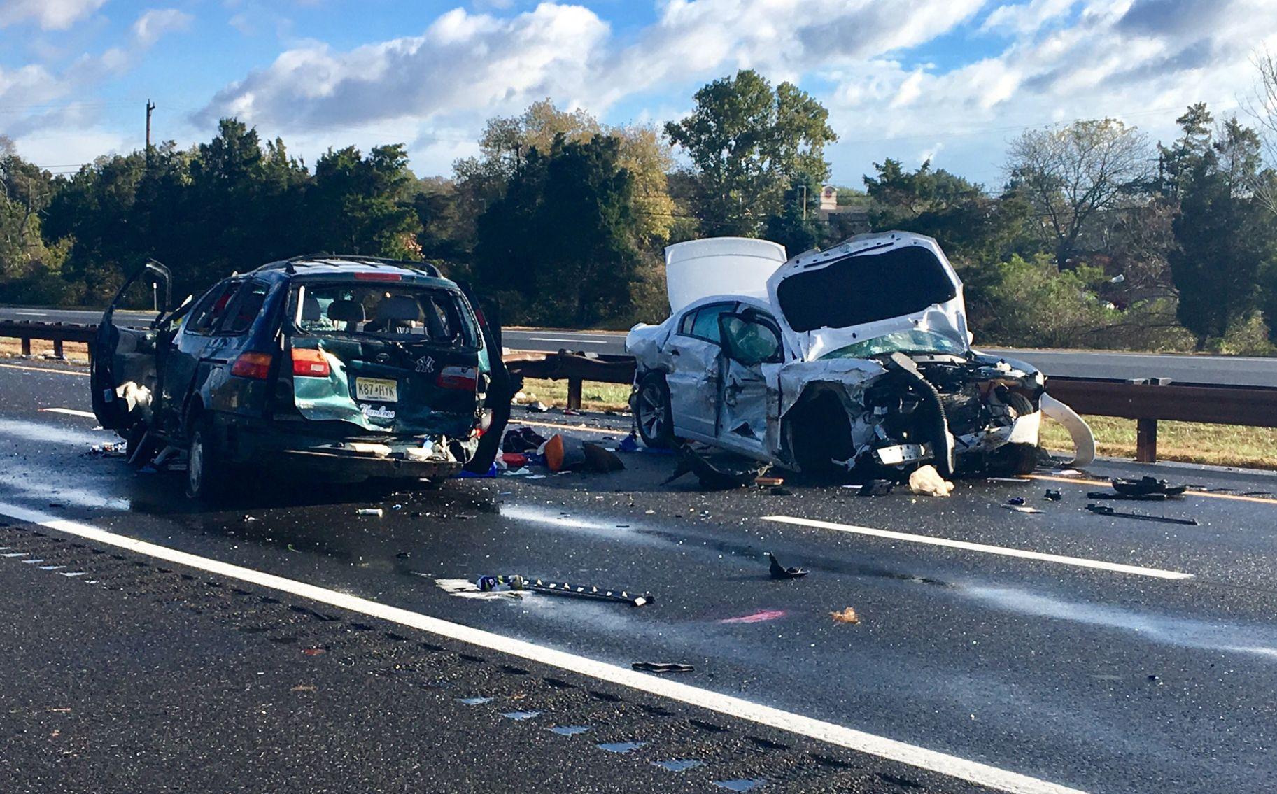 Garden State Parkway Crash Photo