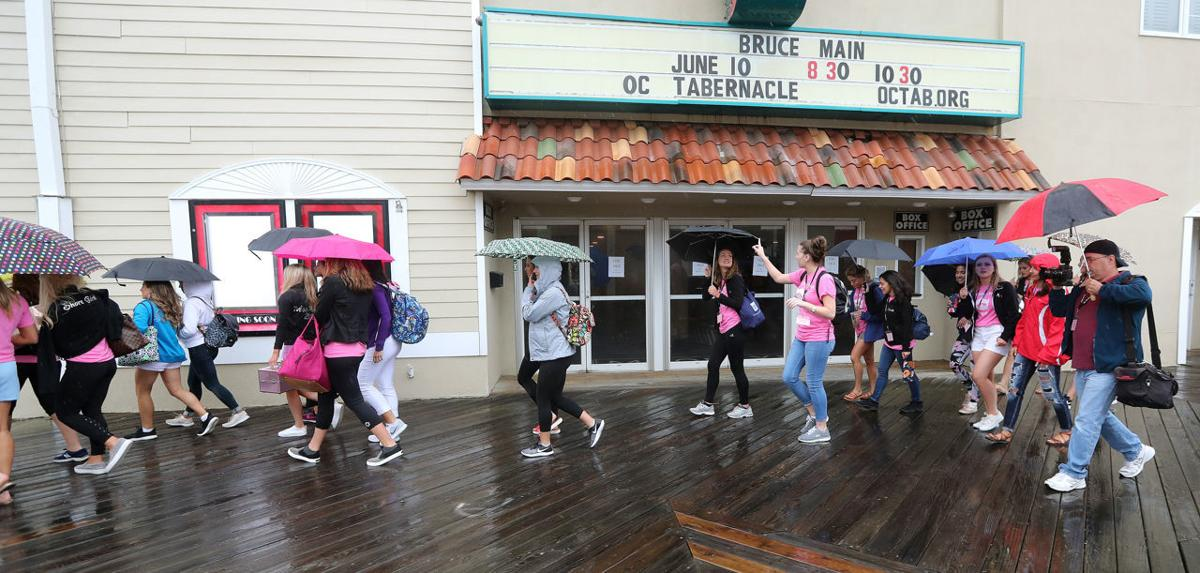 Miss New Jersey Contestants Arrive OC