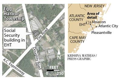Egg Harbor Township Social Security map