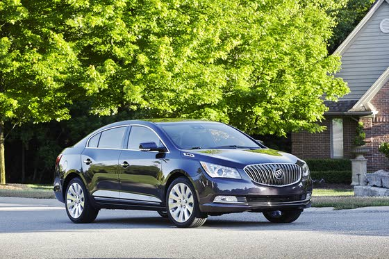 2014 Buick LaCrosse: Updates to Luxury