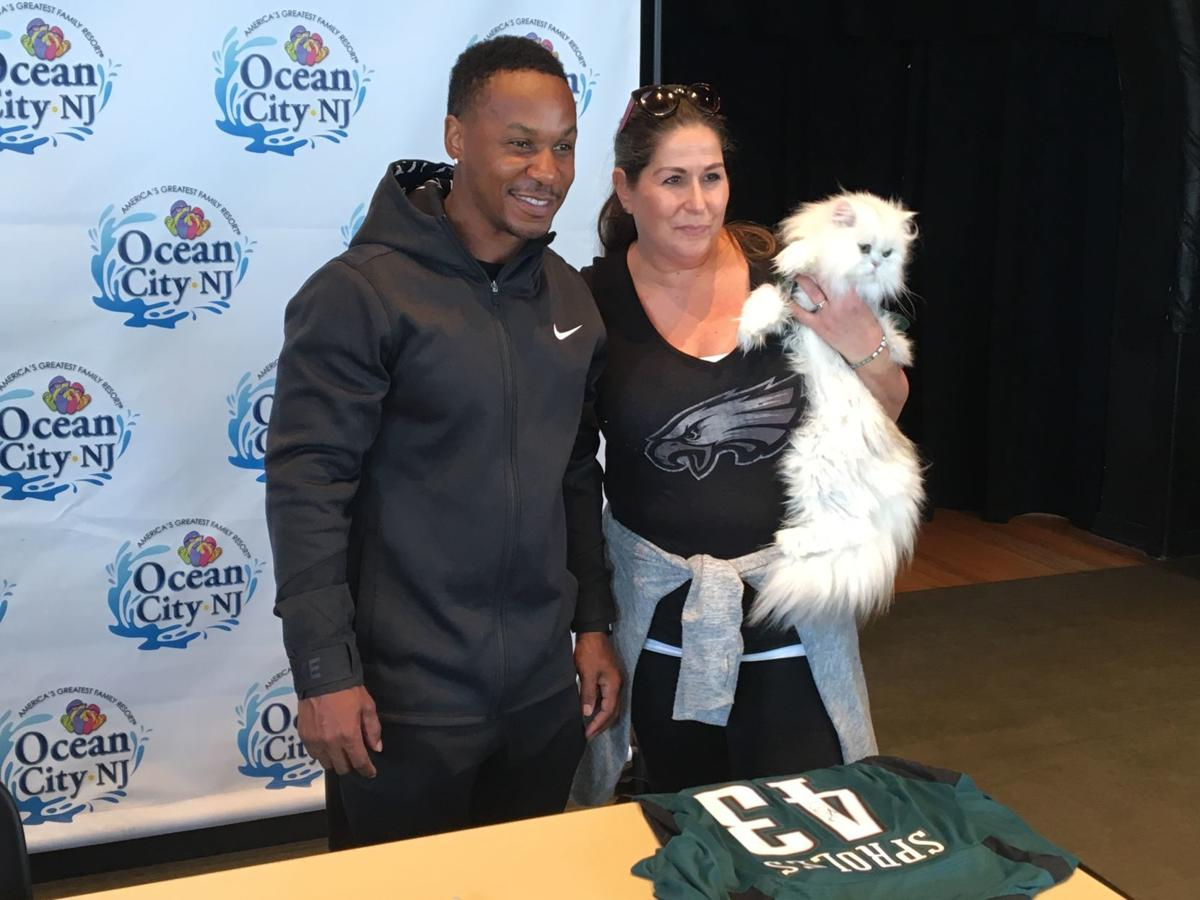 Darren Sproles lets cat out of the bag