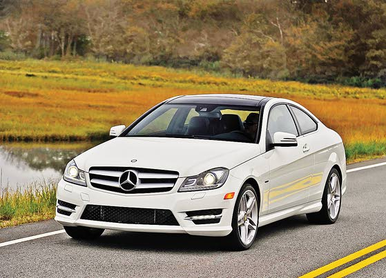 2012 c350 coupe mercedes benz back to what it does best for Mercedes benz of atlantic city new location