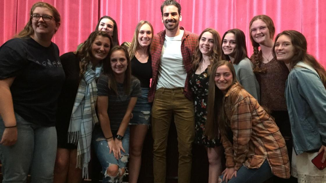 """'Dancing with the Stars"""" winner and deaf activist Nyle DiMarco inspires at Ocean City High School"""