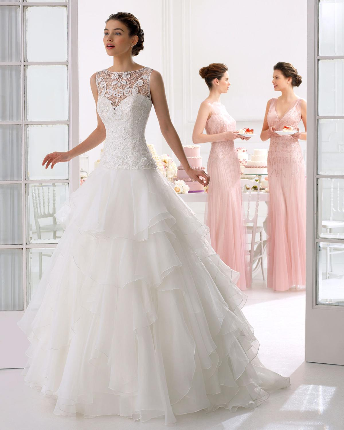 Keeping Cool: The Latest in Summer Wedding Gown Styles | Bliss ...