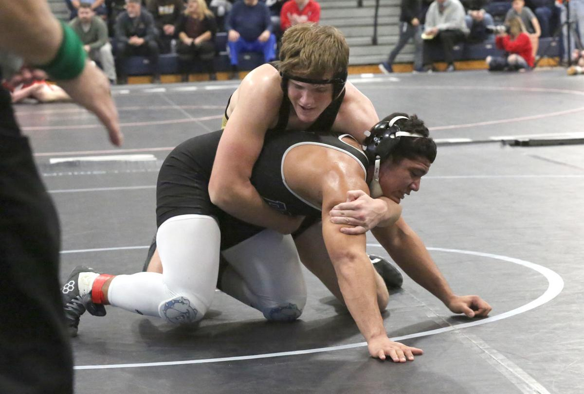 Southern wrestling state final