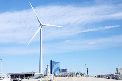 Atlantic City has one of New Jersey's first wind farms