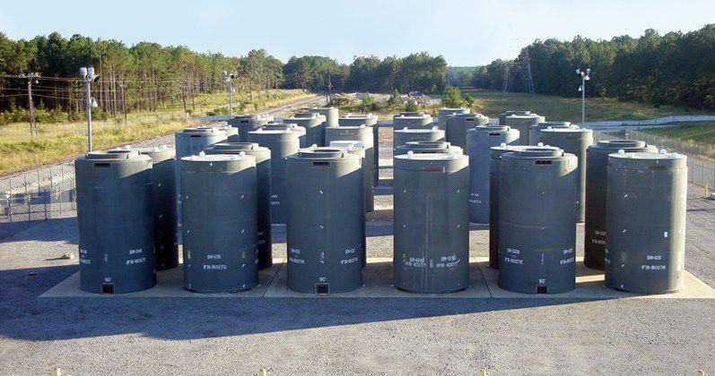 Holtec International dry cask storage