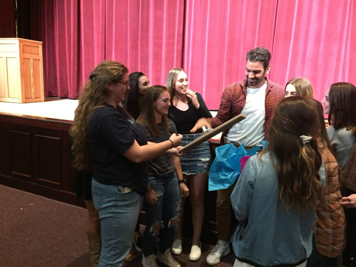 Nyle DiMarco visits Ocean City High School