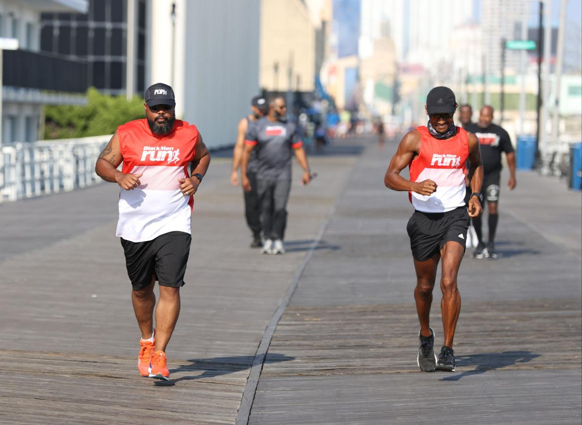 Black Men Run Marathon