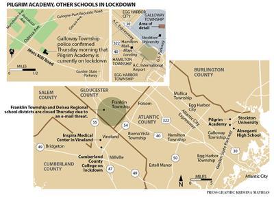 Pilgrim Academy, local school in lockdown Galloway NJ