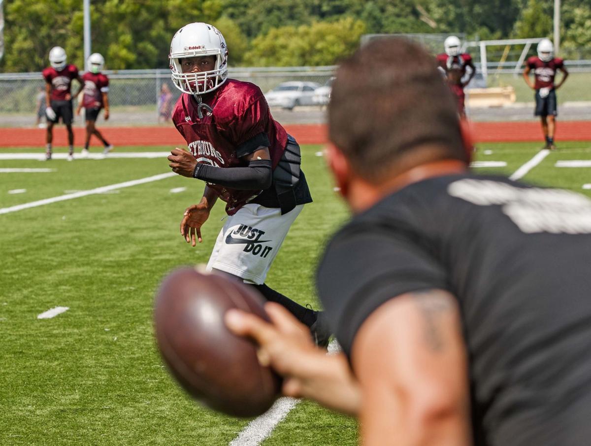 Pleasantville Football Practice