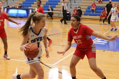 Hammonton vs Vineland Girls Basketball game