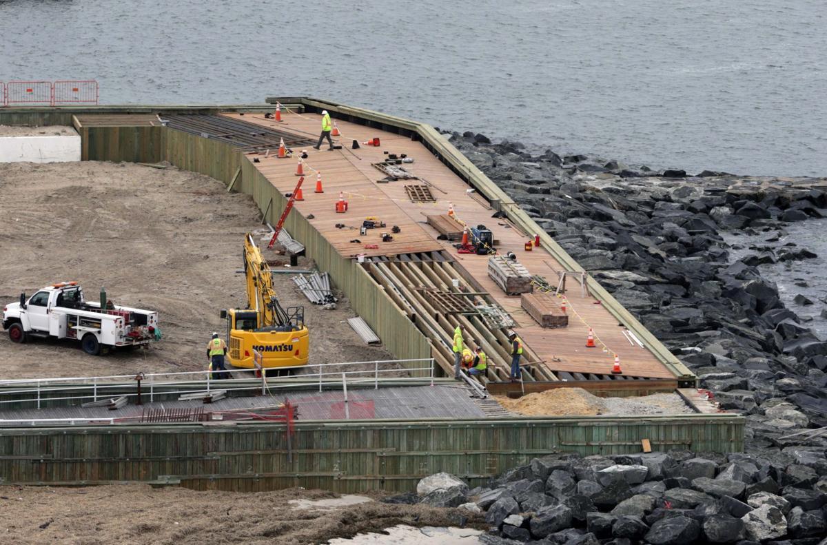 New boardwalk uptown in Atlantic City