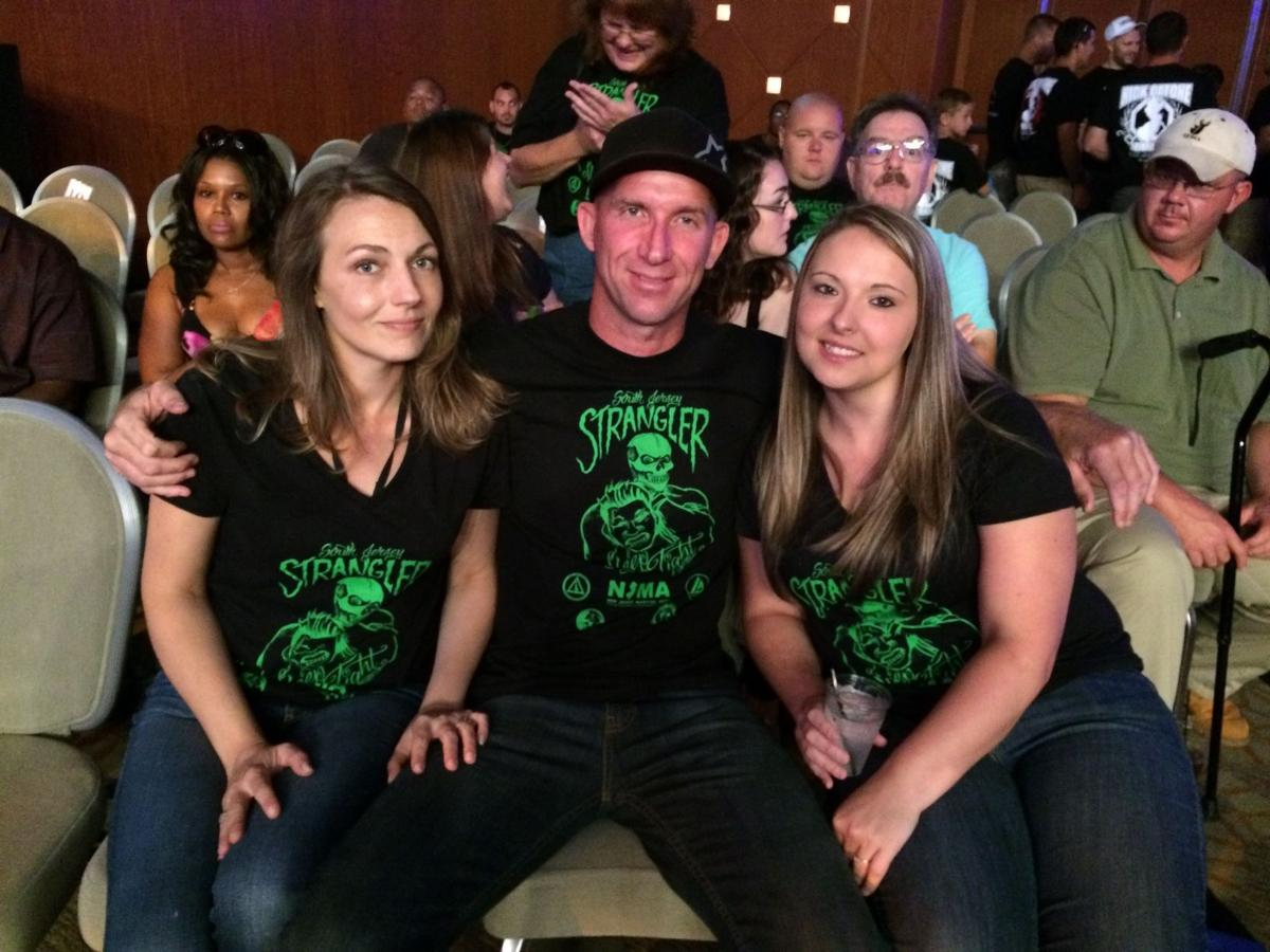 MMA fans Kandis Shaw, Tom Shaw and Karen Ruberts