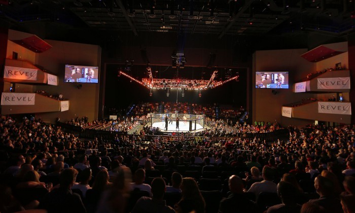 Ufc Fans At Revel In Atlantic City Cheer For New Jersey