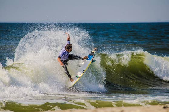 Ocean City's Rob Kelly leads strong local contingent at Belmar Pro