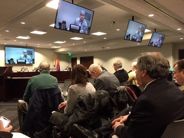 NJ Transit board meeting