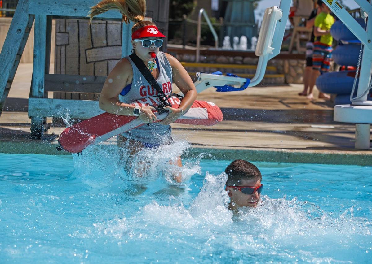 Summer Series: Lifeguard Bryce Hamilton