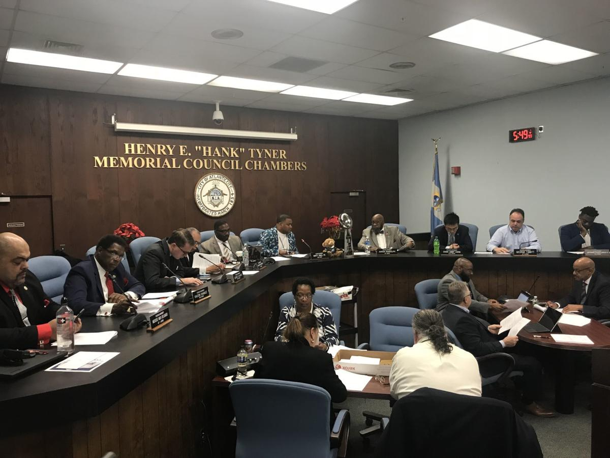 Atlantic City Council reorganization meeting