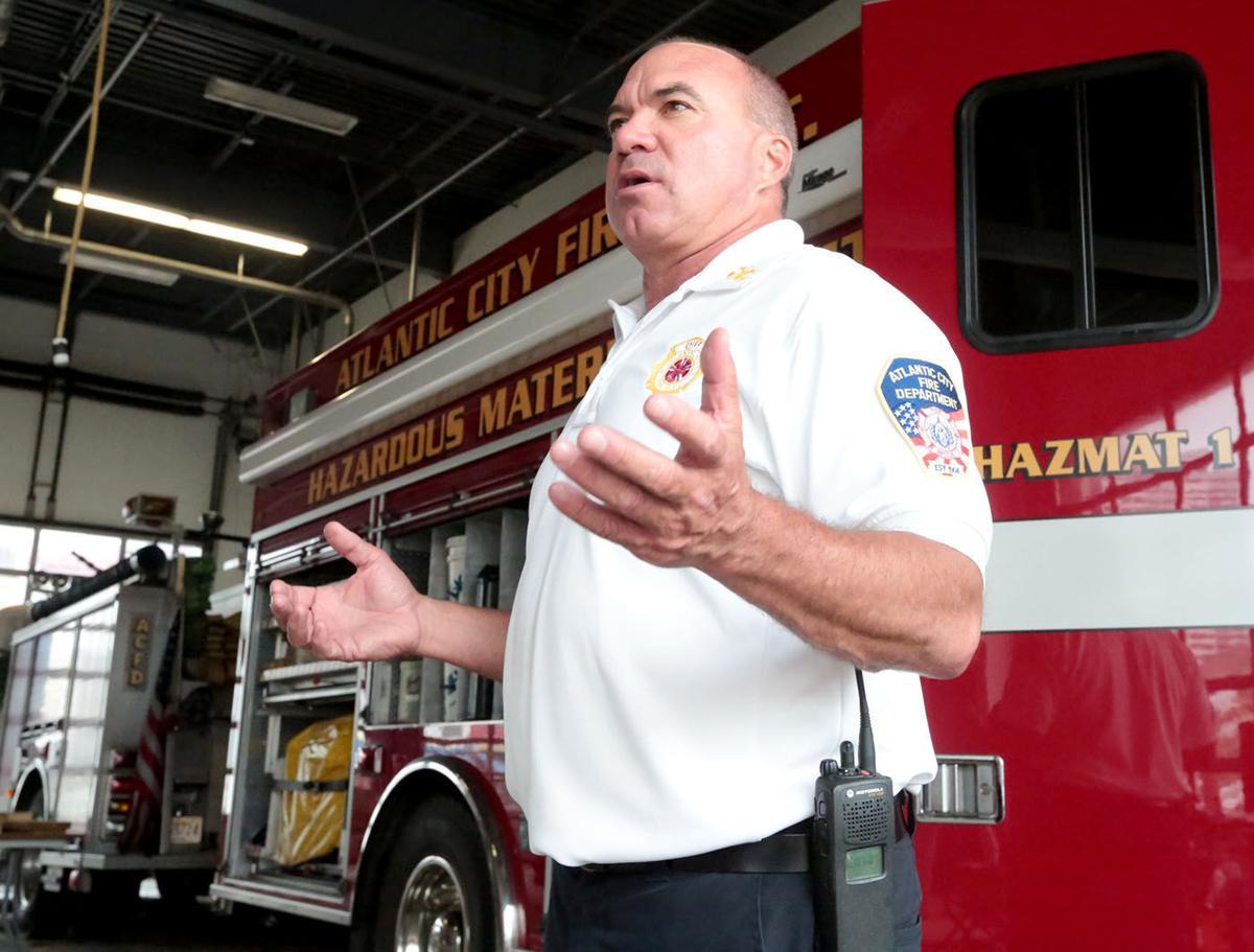 Atlantic City Chief Scott Evans