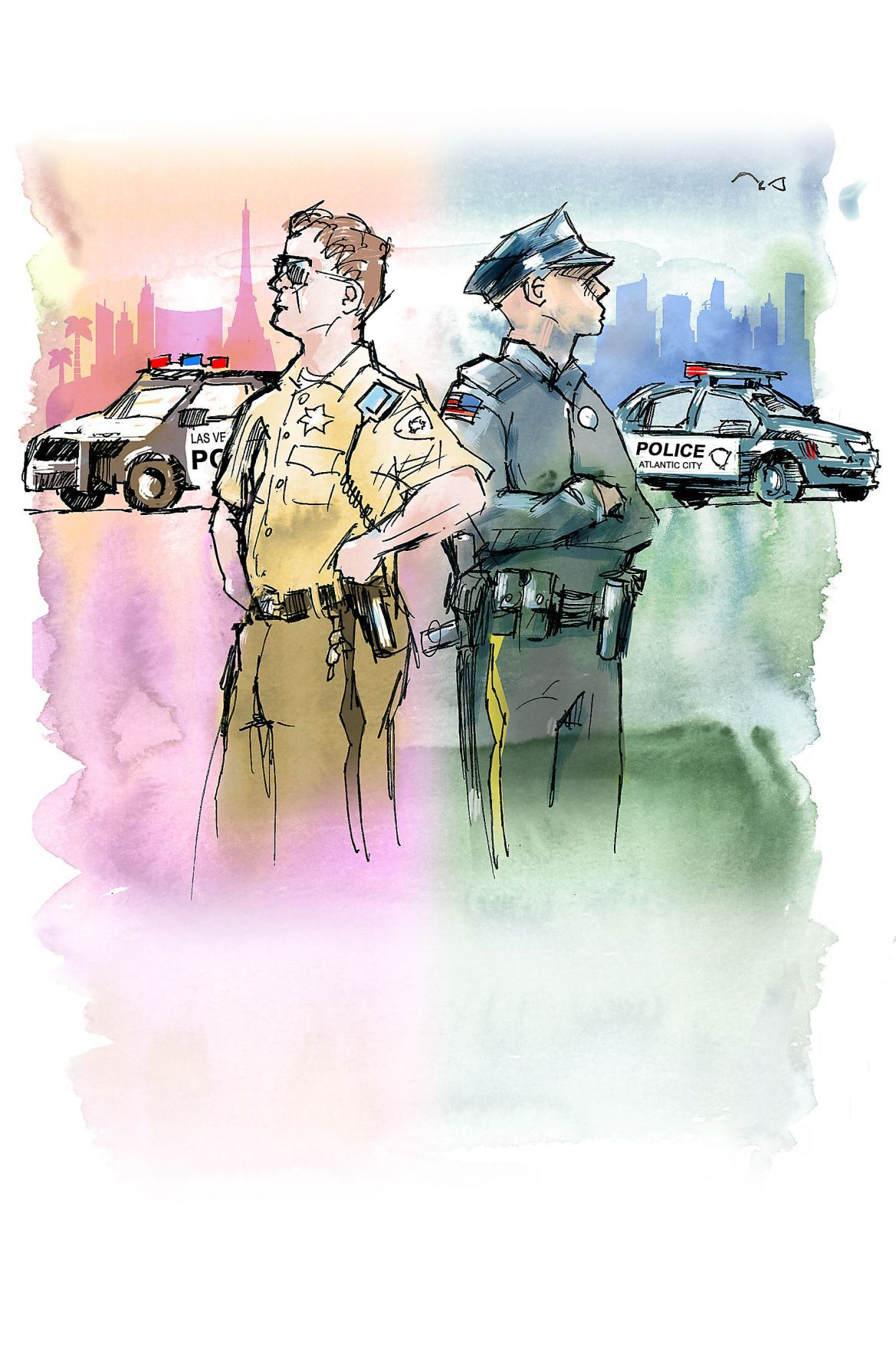 Vegas/AC police