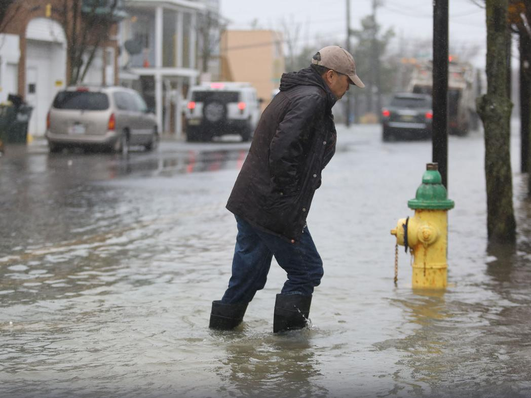 GALLERY: Nor'easter in Ventnor and Atlantic City