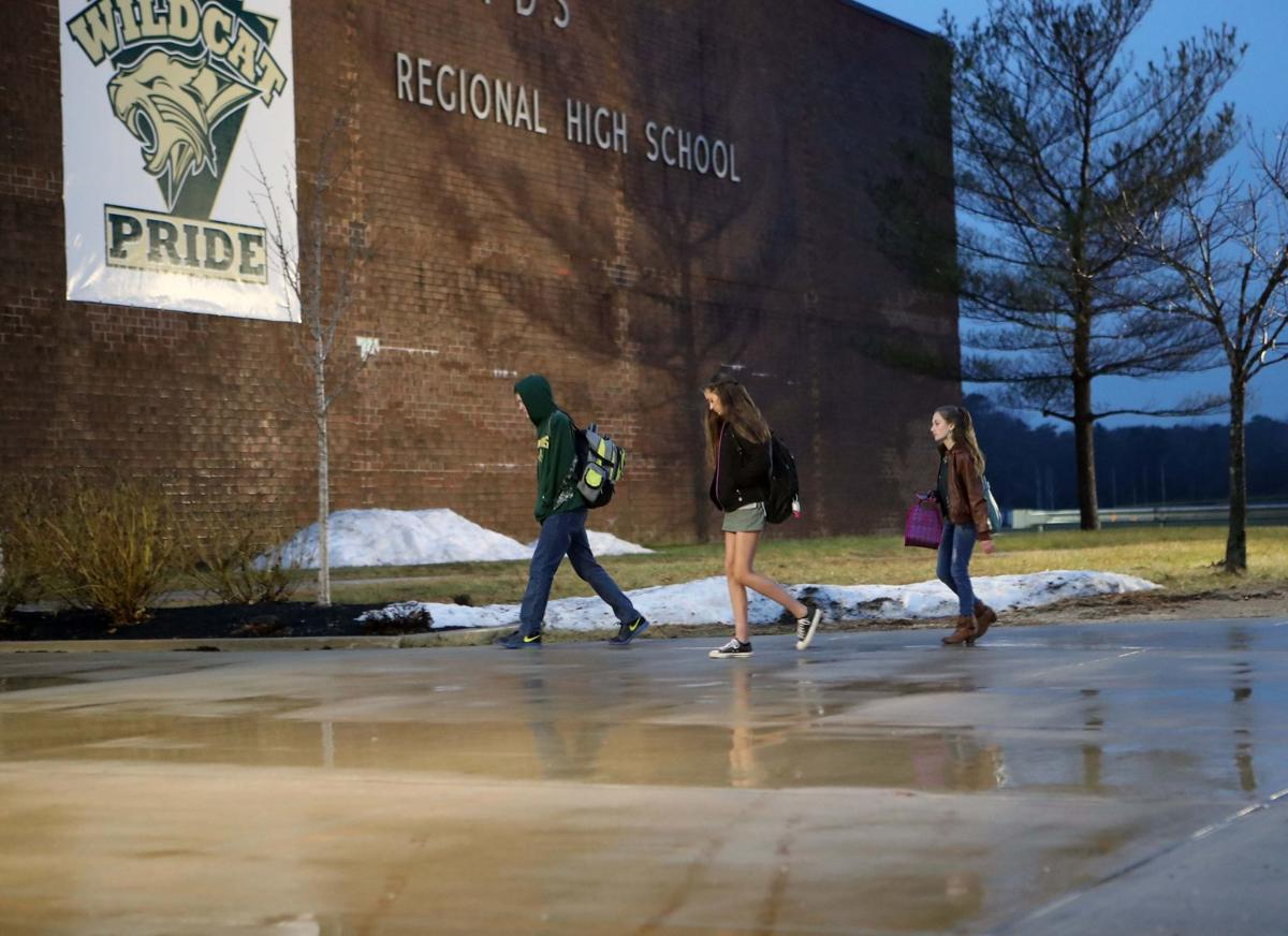 Students return to Pinelands Regional High School