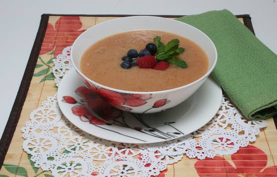 Beat the summer heat with Chilled Fruit Soup