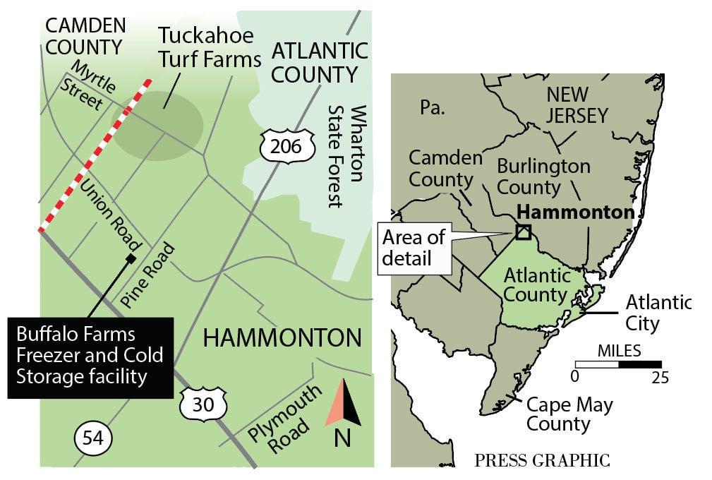Hammonton Fire Destroys Storage Warehouse