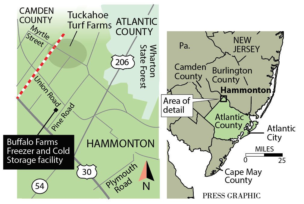 Hammonton fire destroys storage warehouse  sc 1 st  Press of Atlantic City & Welding may have sparked Hammonton blaze that destroyed fruit ...