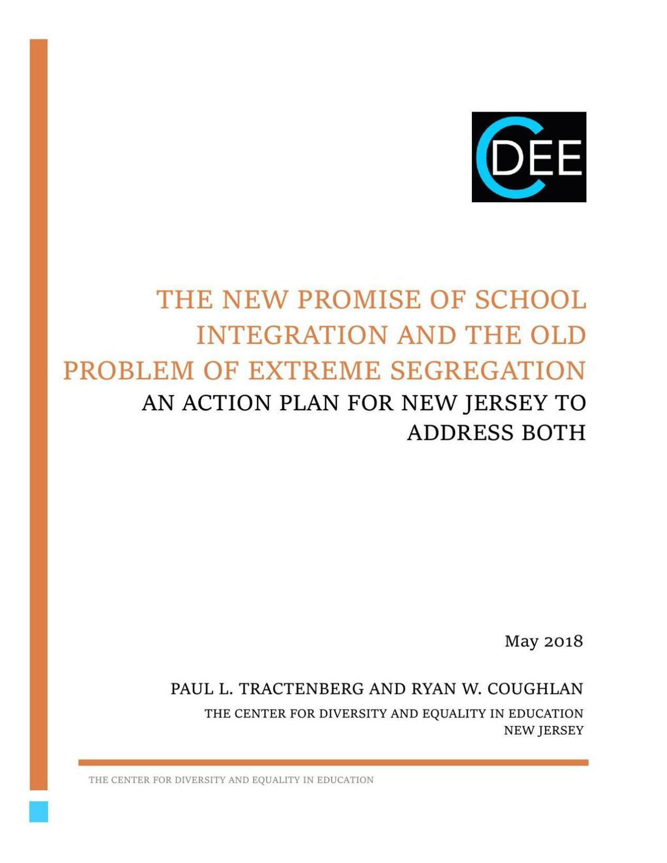 2018 NJ School Segregation report