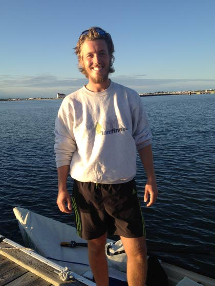 Miami-to-New York rower meets kindred spirit in Cape May County